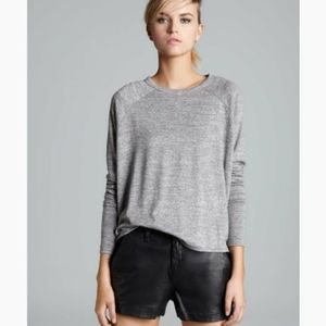 Rag & Bone Camden Long Sleeve Tops (Gray)